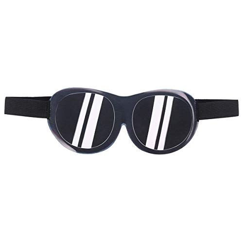 HEALIFTY 3D Funny Eyeshade Breathable Blindfold Travel Sleeping Helper Eyeshade (vorgibt, eine Sonnenbrille zu tragen)