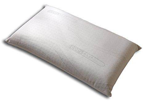 travelstar TS-WP-1000 Viscospring Wonderpillow - das patentierte Premium Memory Foam Bettkissen mit Taschenfeder-Kern, wie Boxspringbett, 40 x 70 cm