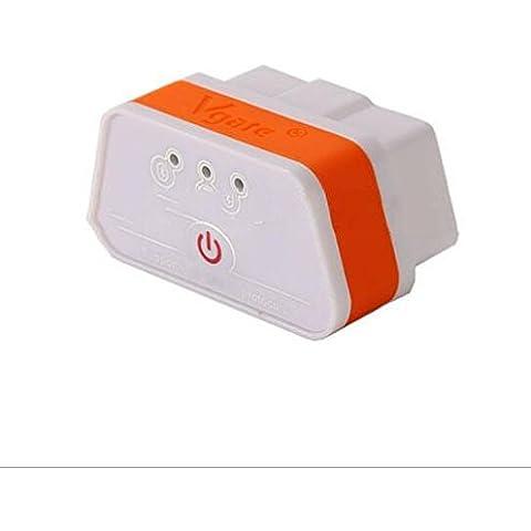 Tester di diagnosi di colpa Vgate ICAR M3 ELM327 Bluetooth OBD2 per autoveicoli , orange