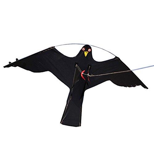 LOVIVER \'\'Fliegend\'\' Raubvogel Falke Lebensgroß Drachenschnur Vogelschreck - # 2
