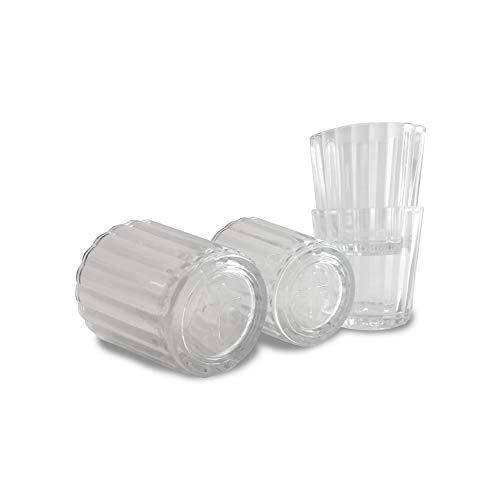 Casa Agave Vaso Veladora - Traditionelle Mezcal Dish/Glas / Tasse - 4er Set