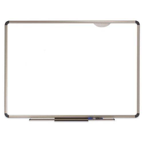 Quartet Prestige Plus Premium Porcelain Whiteboard, 6 x 4 Feet, Euro Frame (P567T) by Quartet