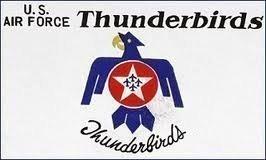 0.91 METERS 152 USAF THUNDERBIRDS-FLAGGE