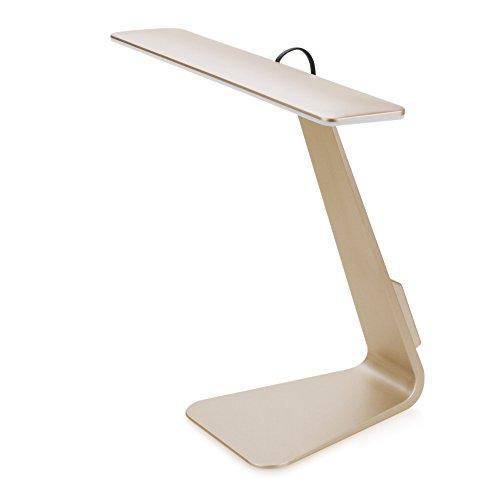 Lumtex LED Design-Tischlampe touch, Stand-Leselampe als Schreibtischlampe dimmbar in (Lightbulb Hat)