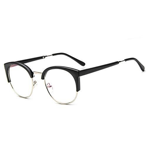 YOGER Sonnenbrillen Transparent Metall Halb Umrandeten Sonnenbrille Frauen Männer Leopard Sonnenbrille Im Freien Einkaufen Kunststoff Brille