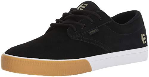 Vulc Schwarz Wildleder (Etnies Herren Jameson Vulc Skateboardschuhe, Schwarz (Black/Gum/White 968), 42 EU (8 UK))