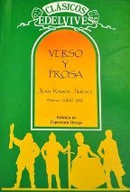 Verso y prosa : Juan Ramón Jiménez par Juan Ramón Jiménez