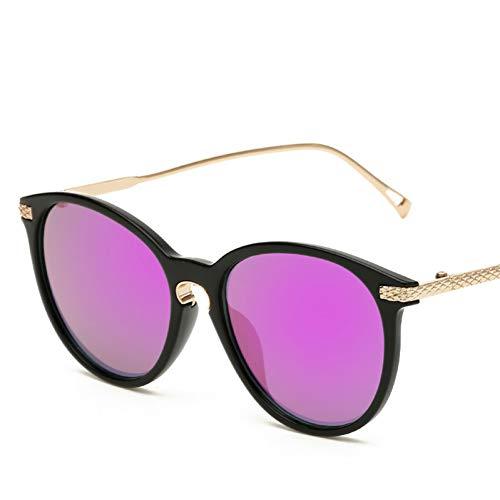 ADGJLI Rosa Frauen Polarisierte Sonnenbrille Elegante Blume Designer Damen Retro Schmetterling Sonnenbrille Weibliche Mode Gespiegelt Shades