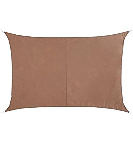 Voile D'ombrage Taupe - Toile solaire Voile d'ombrage rectangulaire 2 x