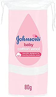 JOHNSON'S Baby Cotton Wool, 80g