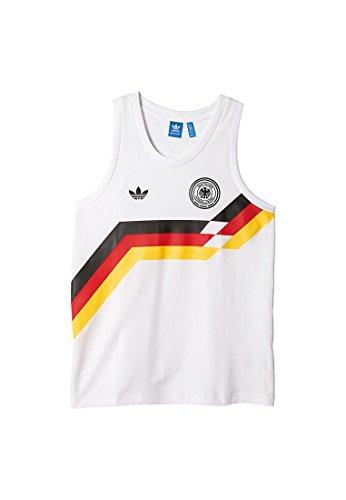 adidas Herren Germany Tanks Weiß