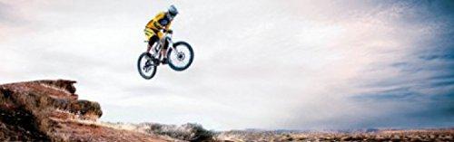 1art1 Mountain Biking - Take Me Higher, 1-Teilig Fototapete Poster-Tapete 250 x 79 cm