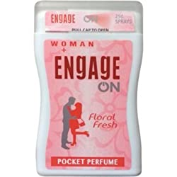 ENGAGE WOMEN FLORAL FRESH POCKET PERFUME 18.8 ML (PACK OF 2)
