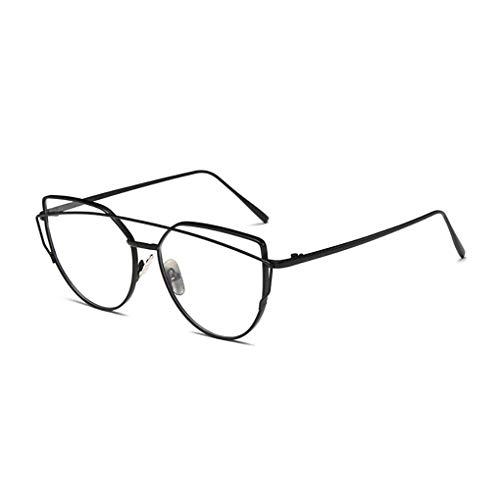 Idyandyans Unisex Doppel-Brücke Sonnenbrillen Frauen Männer Metallrahmen Resin Objektiv Sonnenbrillen Anti-UV-Skifahren-Reise Brillen