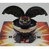 Bakugan Season 2 Vestroia New Loose Special Attack Darkus Black Heavy Metal Chrome Vandarus 610g by Bakugan