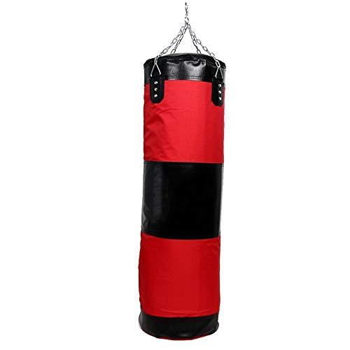 WJQ Boxsack - Hochleistungs-Trainings-Boxsäcke, verstärkt, langlebig und wirkungsvoller - Sehr geeignet für den Innen- und Außenbereich im Fitnessstudio -