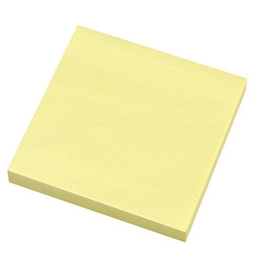 Haftnotizblock. 75x75 100Bl. gelb LW