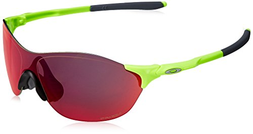Oakley Men's Evzero Swift (a) Non-Polarized Iridium Rectangular Sunglasses, Retina Burn, 38 mm