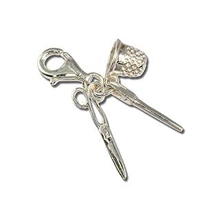 SilberDream Charm Armband Anhänger Schneiderset 925 Echt Silber D3FC3066