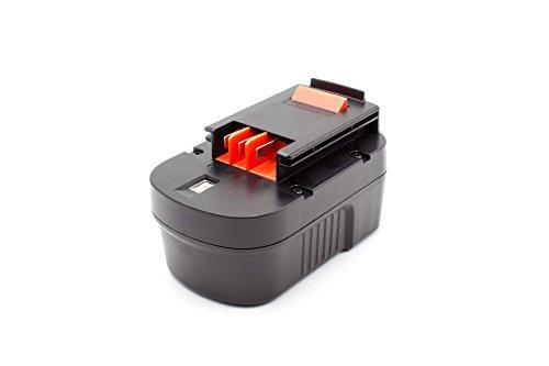 vhbw NiMH Akku 1500mAh (14.4V) für Elektrowerkzeug Werkzeug Powertools Tools Black & Decker HP14KD, HPD1400, HPD14K-2, HPS1440, KC2002F