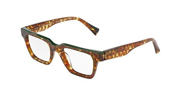 Eyeglasses Alain Mikli A 3093 004 HAVANA OLIVE DAMIER//GREEN