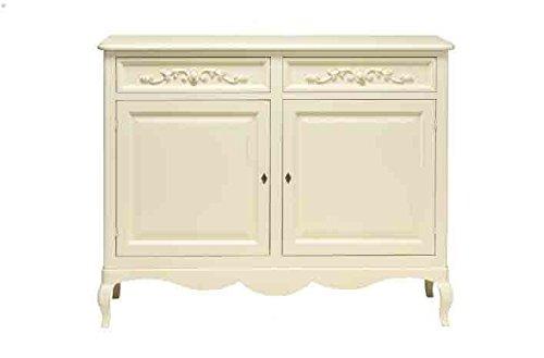 Credenza alta in legno stile vintage L'ARTE DI NACCHI disponibile in diverse rifiniture 4991GIAV