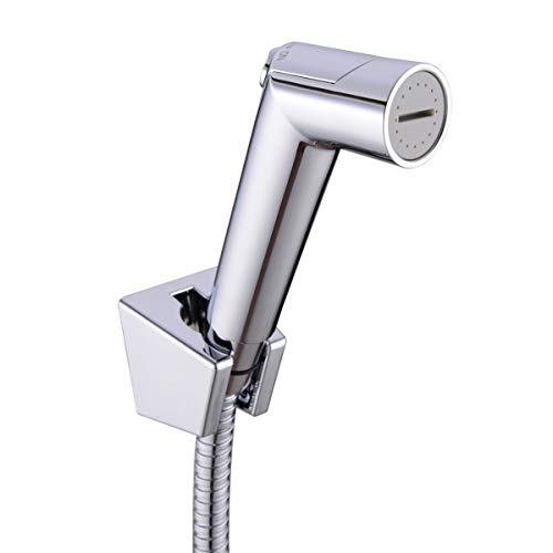 TRUSTMI Bad-Bidet-Spray für WC-Handbrause Shattaf-Duschset, Chrom