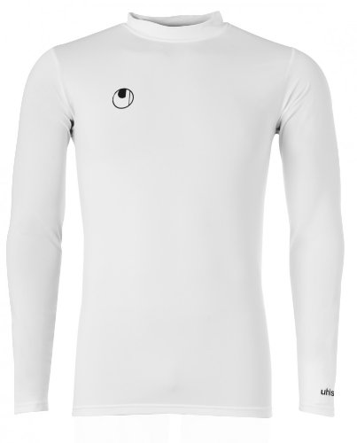 uhlsport Funktionsshirt LA, weiss, M, 100307801 (Thermo Langarm-trikot)