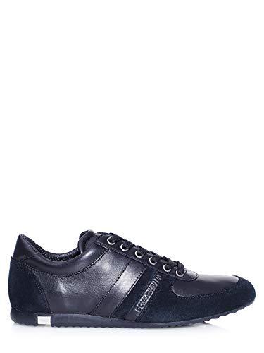 Dolce & Gabbana Herrenschuhe Herren Leder Schuhe Sneakers Mordore Schwarz EU 41.5 CS1362 AC955 89859