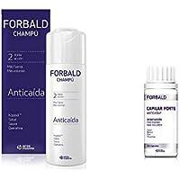 Pack tratamiento anticaída Forbald champú+cápsulas