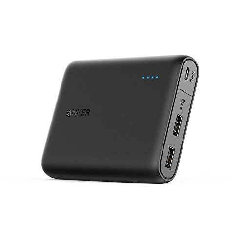 Anker PowerCore 10400mAH 2-Port Ultra Portable Charger for Apple iPhone,...