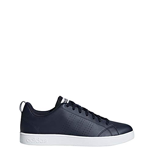 adidas Vs Advantage Clean Scarpe da Tennis Uomo, Blu Ftwwht/Legink, 47 1/3 EU