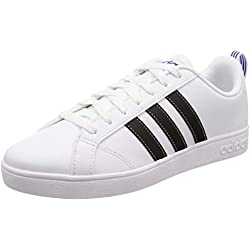 ADIDAS Vs Advantage F99256, Zapatillas de Deporte Unisex Adulto, Blanco, 43 EU