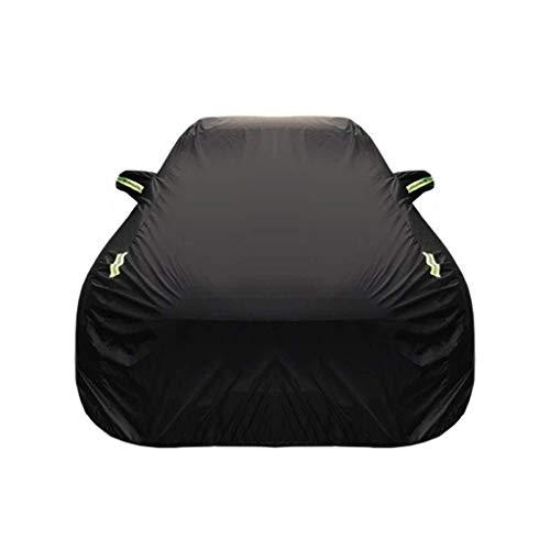 XWYSD Kompatibel mit 1er M Coupe Car Cover Outdoor Dust Cover Oxford Cloth Car Persenning Auto Kleidung Sonnenschutz Isolierung UV Kratzer beständig Allwetter Breathable volle Auto-Abdeckung