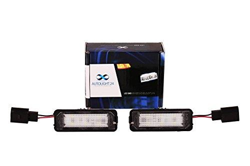 Preisvergleich Produktbild Premium LED Kennzeichenbeleuchtung Nummernschildbeleuchtung 611 20