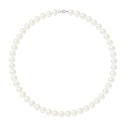 Pearls & Colors Perlenketten - AM17-COL-AG-POT910-M-WH