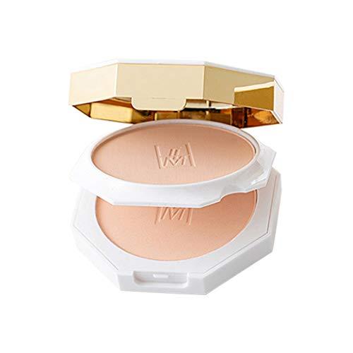 ღ Brisk-Fairy Poudre Blanche De Correcteur Durable De Maquillage Contrôlée Par Huile De Fente De Tortue De Marbre Fond de Teint Liss