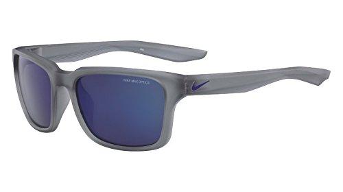 Nike -  occhiali da sole  - uomo mt w gry w/gry blu ni fl lens
