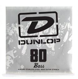 Dunlop DL STR DBS 080singolo String Bass Steel 080