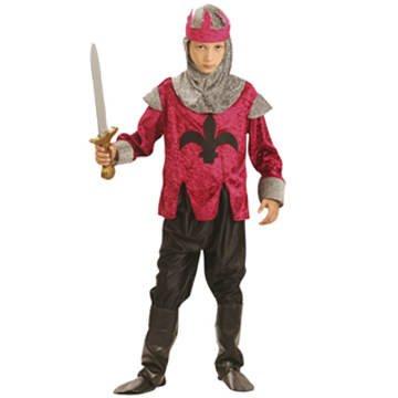 PARTY DISCOUNT Kinder-Kostüm Renaissance King, 4-6 Jahre