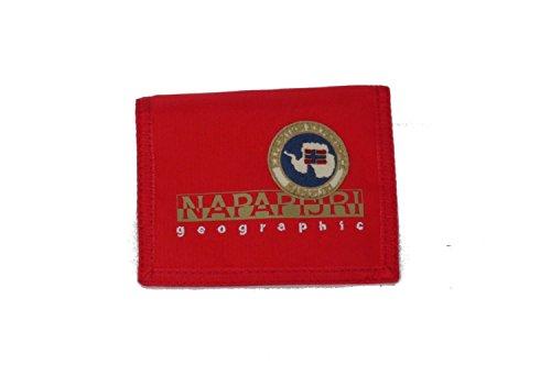 Portafoglio napapijri | linea north cape | 4bnn3z07-red pepper