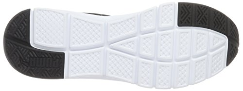 Puma Flexracer, Chaussures de Running Compétition Mixte Adulte Noir (Black/White 01)