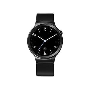 """Huawei Watch Active - Smartwatch Android (pantalla 1.4"""", 4 GB, 512 MB RAM), correa de cuero, color negro"""
