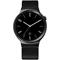 "Huawei Watch Active - Smartwatch Android (pantalla 1.4"", 4 GB, 512 MB RAM), correa de cuero, color negro"