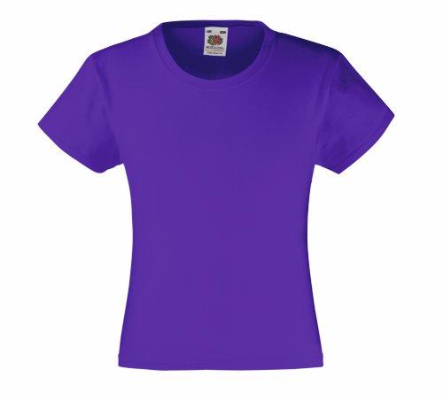 fruit-of-the-loom-t-shirt-en-coton-pour-fille-violet-violet-12-ans