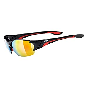 UVEX GLASSES BLAZE III BLK RED