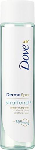 Dove DermaSpa Seidiges Körperöl straffend+, 1er Pack (1 x 150 ml) (Dove Pflege Intensive)