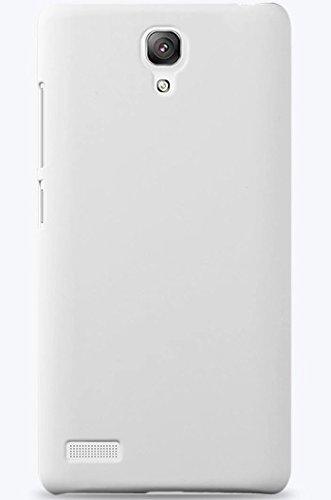 ImagineDesign WOW ImagineDesign Matte Rubberised Hard Case Back Cover For XIAOMI MI REDMI NOTE / NOTE 4G / NOTE PRIME (White)