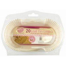 40 Loaf Tin Liners/2 Packs of 20