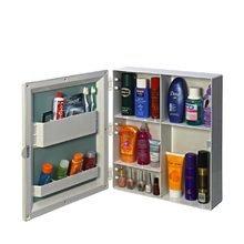 Cipla Plast CiplaPlast Flora Bathroom Mirror Cabinet - White